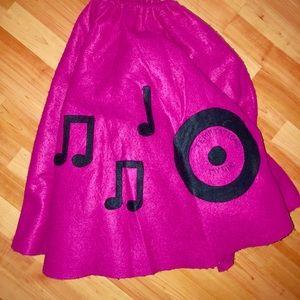 🌸Adult 50's Handmade Felt Skirt 🌸